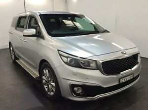 2015 Kia Carnival YP MY15 Platinum Silver 6 Speed Sports Automatic Wagon Cardiff Lake Macquarie Area Preview