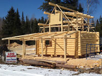 Ultimate Log Cabin (Shell) - Can also build to suit