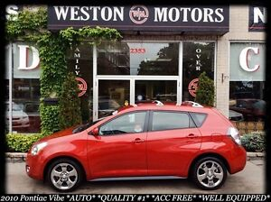 2010 Pontiac Vibe AUTO*ACC FREE*IN-HOUSE FINANCING AVAILABLE!