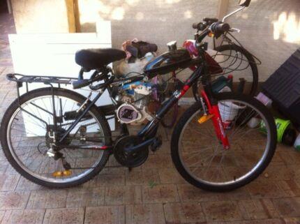 Motorised bike mods runs great