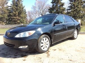 2003 Toyota Camry, SE-PKG, AUTO, LEATER, ROOF, CLEAN, $5,000
