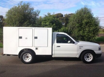 2005 Ford Courier PH (Upgrade) GL Super Cab White 5 Speed Manual Cab Chassis