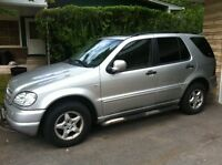 2001 Mercedes-Benz M-Class W163 LOW KM's!