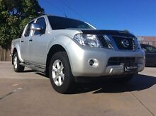 2012 Nissan Navara D40 S5 MY12 ST-X 550 Silver 7 Speed Sports Automatic Utility Pialba Fraser Coast Preview