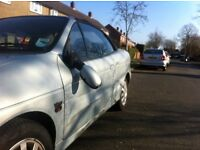 Accident Damaged 2003 Mrk 1 Renault Megan Convertible