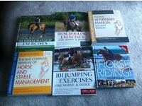 Job Lot of As-New Equestrian and Horse Riding Books