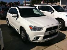 2011 Mitsubishi ASX XA MY11 Aspire White 6 Speed Constant Variable Wagon Maryville Newcastle Area Preview