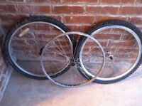 """** 26"""" 24"""" 20"""" Replacement wheels Front and Rear straight bmx"""