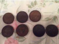 Victorian Pennies and other coins for sale