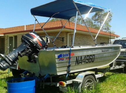 Quintrex Hornet Boat and trailer Caboolture Caboolture Area Preview