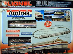 Lionel Amtrak model train set