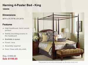 Four Poster Bed Kijiji Free Classifieds In Ontario