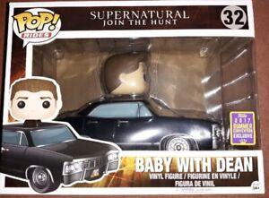 Baby with dean pop vinyl rides