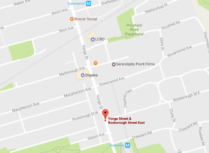 Wanted: Parking at Yonge and Roxborough (Rosedale/Summerhill)