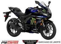 2020 Yamaha  YZF-R3 Monster Energy Moto GP Casque Shark et 1,99%