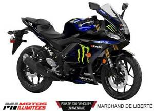 2020 Yamaha  YZF-R3 Monster Energy Moto GP 1,99%  sur 24 mois