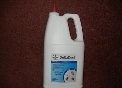 Delta Dust Bayer 5 lb Insecticide silverfish ants bees