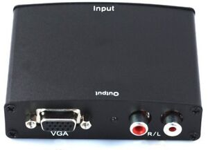 Converter - HDMI to VGA with RCA Audio Output
