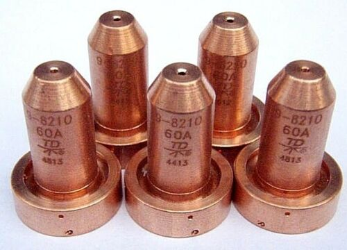 (50pcs)10 x 5 Original Thermal Dynamics 9-8210 Nozzles for SL60/SL100 Plasma