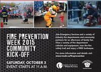 Fire Prevention Week Community Kick-Off 2015