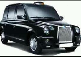 GLASGOW BLACK HACKNEY TAXI DRIVER NIGHT SHIFT