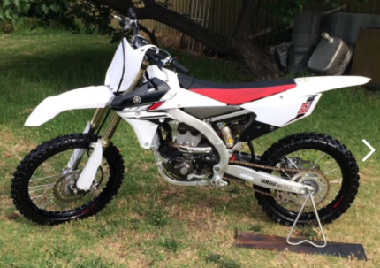 YAMAHA YZ250 2014 LIMITED EDITION Clovelly Park Marion Area Preview