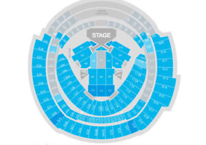 Taylor Swift in Toronto, Canada, Section A5, Great FLOOR SEATS!