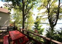 Two Bedroom Cottage on Crow Lake Ontario for Rent