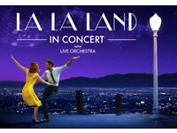La La Land @ Birmingham Symphony Hall - 24th September - great seats - £80
