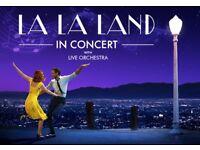 LA LA LAND – LIVE IN CONCERT. Symphony Hall, Birmingham SUN 24 SEPTEMBER 2.30pm 2017