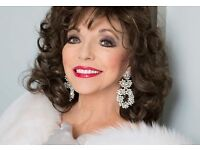 Joan Collins tickets for Birmingham on 26th September - £60 each - great seats