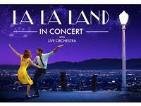 La La Land tickets @ Birmingham Symphony Hall - 24th September - great seats - £55