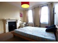 LARGE**split level 2 DOUBLE BEDROOM flat set on the TOP 2 FLOORS of a grand VICTORIAN HOUSE