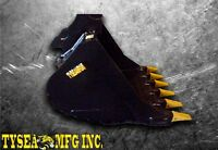 ALL EXCAVATOR, SKID STEER ETC ATTACHMENTS BY TYSEA MFG INC.