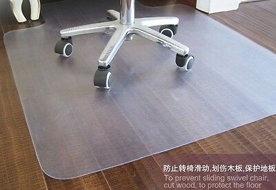 New Pvc Chair Mat 46 X 60 With Lip For Hard Floors 2.00mm Thick