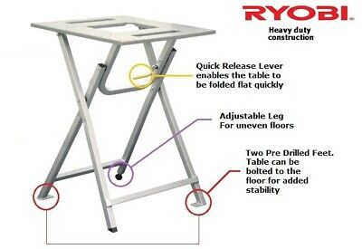 Ryobi AFS-01 Mitre  Table Saw Stand - Universal Fit