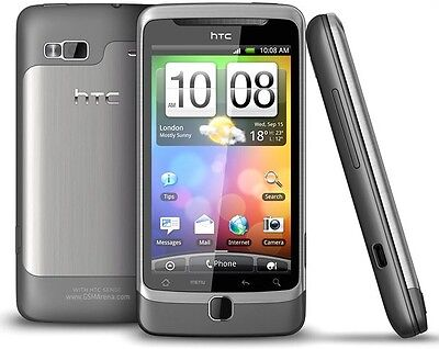 HTC T-Mobile G2 - 4GB - Titanium (T-Mobile) Smartphone PC10100 Google Android on Rummage