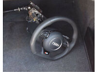 Audi A5 Flat Bottom Steering Wheel