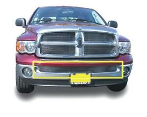 2002-2008 Ram PU (Except Sport & Diesel)  BILLET ALUMINUM POLISHED BUMPER