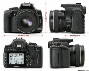 Canon Rebel XTi / EOS 400D Camera Body - $100