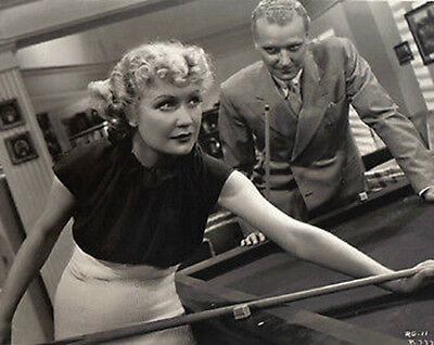 "Miriam Hopkins ~Shooting Pool~Playing Pool~Billiards~Poster~16"" x 20"" Photo"