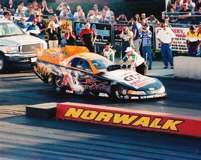 JOHN FORCE HALLOWEEN FUNNY CAR NIGHT UNDER FIRE 8X10 GLOSSY PHOTO #6 - Halloween Photos Funny
