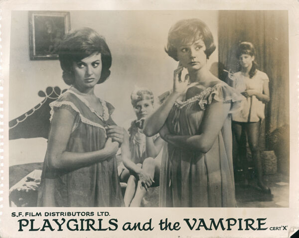 Playgirls and the Vampire Original Lobby Front of House Card Lyla Rocco 1960