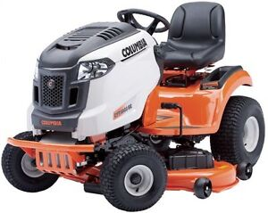 "NEW Columbia CYT5023SE 50"" Deck 23HP Ride-on"