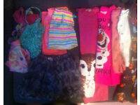 Selection of girls clothes age 4-6