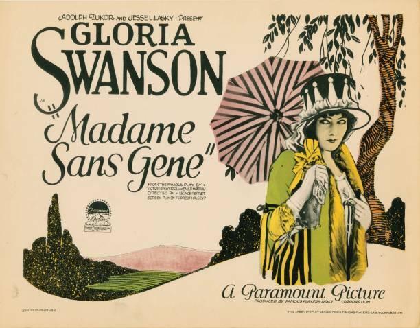OLD MOVIE PHOTO Madame Sansgene Lobby Card Gloria Swanson Title Card 1924