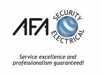 Electrical/Electrician/Security Engineer CCTV Intruder Alarms PAT