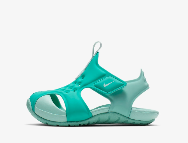 New Nike Baby Sunray Protect 2 Toddler Sandals (943827-302)  Hyper Jade/Tropical