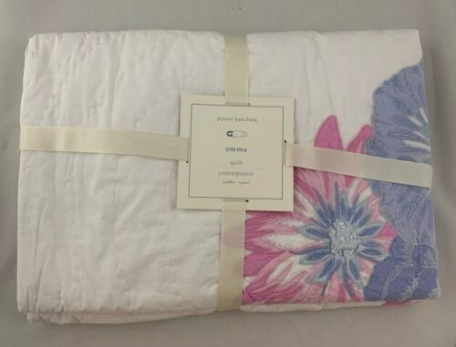 New Pottery Barn Baby Emma Quilt Crib Nursery Quilt New With Tags Sold Out