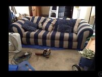 Comfy pull-out couch for sale
